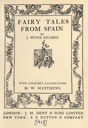 Fairy tales from Spain PDF
