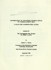 Governance of non-point source inputs to Narragansett Bay PDF