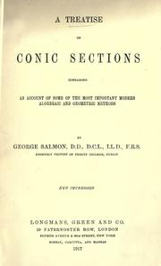 A treatise on conic sections by George Salmon