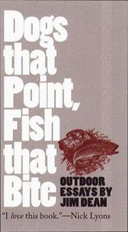 Dogs that point, fish that bite PDF