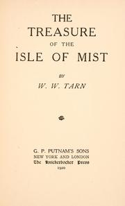 The treasure of the Isle of Mist by W. W. Tarn