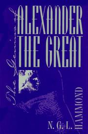 The genius of Alexander the Great PDF