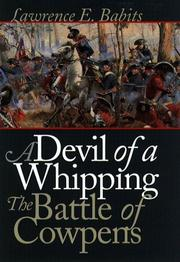 A devil of a whipping by Lawrence Edward Babits