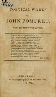 The poetical works, with the life of the author by John Pomfret