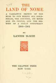 The land of Nome by Lanier McKee