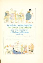 Songs from Mother Goose PDF