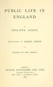 Public Life In England PDF