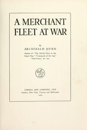 A merchant fleet at war