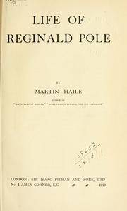 Life of Reginald Pole PDF