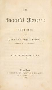 The successful merchant by Arthur, William