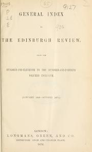 Edinburgh Review; or, Critical Journal.