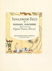 Cover of: Tanglewood tales by Nathaniel Hawthorne