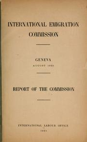 Report of the commission PDF
