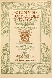 Cover of: Grimm's household tales by Brothers Grimm