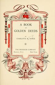 A Book of Golden Deeds PDF
