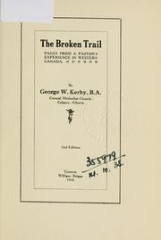 The broken trail PDF