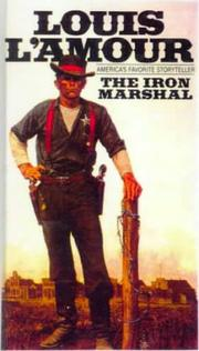 The iron marshal by Louis L'Amour