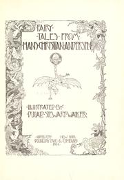 Cover of: Fairy tales from Hans Christian Andersen by Hans Christian Andersen