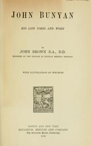 John Bunyan by Brown, John