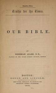 Our Bible PDF