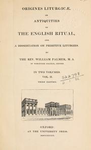 Origines liturgicae PDF