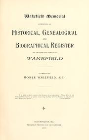 Wakefield memorial PDF