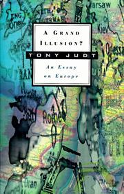 Cover of: A grand illusion? by Tony Judt