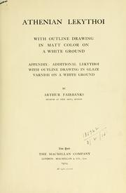 Athenian lekythoi by Fairbanks, Arthur