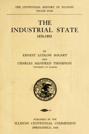 The industrial state, 1870-1893 PDF