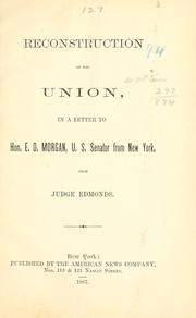 Reconstruction of the Union PDF