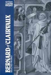 Correspondence by Bernard of Clairvaux, Saint