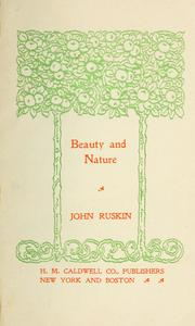 Beauty and nature PDF