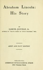 Abraham Lincoln: his story PDF