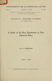 A study of the heat distribution in four industrial kilns PDF
