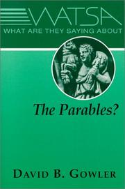 What Are They Saying About the Parables? PDF