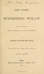 The story of Wandering Willie PDF