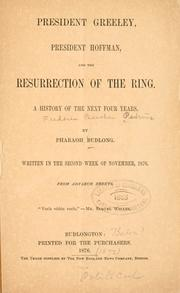 President Greeley, President Hoffman and the resurrection of the ring PDF