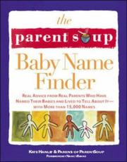 The Parent Soup baby name finder PDF