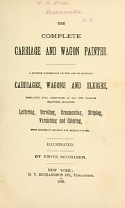The complete carriage and wagon painter PDF