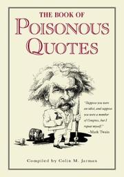 The Book of Poisonous Quotes PDF