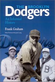 The Brooklyn Dodgers by Graham, Frank