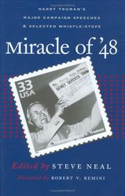 Miracle of '48 by Harry S. Truman