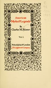 American myths & legends PDF
