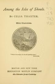Cover of: Among the Isles of Shoals by Celia Thaxter
