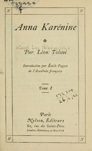 Anna Karénine. Leo Nikoleyevich Tolstoy