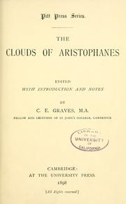 Cover of: The  Clouds of Aristophanes by Aristophanes