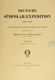 Deutsche Südpolar-Expedition, 1901-1903 by Deutsche Südpolar-Expedition (1901-1903)