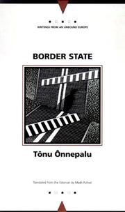 Border State (Writings from an Unbound Europe) PDF
