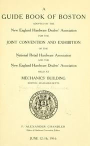 Cover of: A guide book of Boston by Edwin M. Bacon