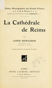 La cathédrale de Reims by Demaison, Louis